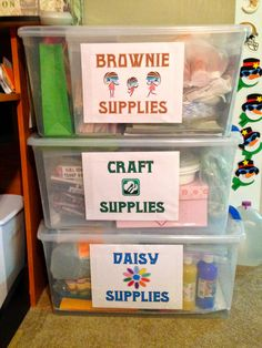 2. Create a First Aid Kit andBRING IT TO EVERY GIRL SCOUT MEETING AND EVENT.  I cannot stress this enough. It is vital you bring it with yo...