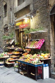 Italian market shop