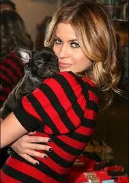 Carmen and her French Bulldog