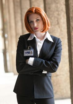 Dana Scully from The X-files cosplay