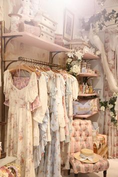 Welcome To Our Wonderland. - - Today we write the second chapter of our magical story with the opening of our veryenchanting NYC shop and new West Village home. Angel Aesthetic, Aesthetic Rooms, Aesthetic Vintage, Aesthetic Clothes, Gold Aesthetic, Dresses Elegant, Pretty Dresses, Vintage Dresses, 1950s Dresses