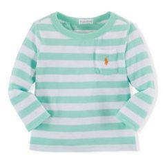 Cotton Gauze Long-Sleeved Tee - Baby Boy Tees & Sweatshirts - RalphLauren.com