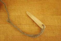 Viking style needle instructable
