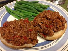 Vegan Sloppy Joes - swap lentils for tvp though, I ended up using both TVP, and Lentils, I also used the whole can of tomato paste...these were amazing, so happy to finally have an awesome Sloppy Joe recipe!! :)