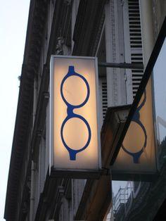 Paris. Opticians.