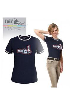 T-shirt Fair Play Abby Leuk fair play t-shirt met print