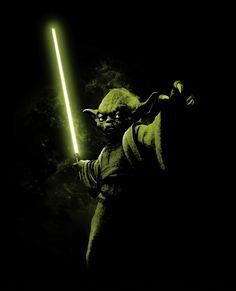 Yoda 2 (see more on http://www.tranchesdunet.com/illustrations-de-starwars/ )