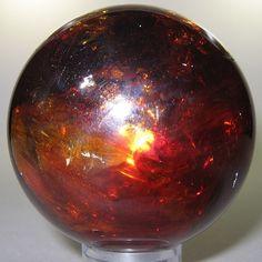 Sphalerite (polished sphere) / Spain
