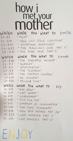 celebrity quotes : A list of movies to watch in Netflix. Such as: Drama Movies, Family Movies, Roma. - The Love Quotes How I Met Your Mother, I Meet You, Get To Know Me, Getting To Know You, Friends Episodes, Friends Tv, Best Himym Episodes, Netflix Movies To Watch, Netflix List