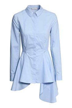 Blusa asimétrica de algodón | H&M