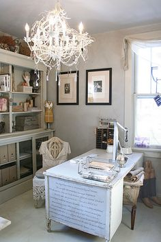 Home office, darling. - Jason would never go for this in his office lol
