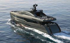 Columbus Sport 130 Hybrid Super Yatch #luxury
