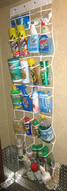 Cleaning Supplies Space Saver