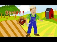 Preschool Thanksgiving Song - Where is Turkey? - Littlestorybug