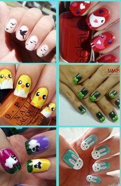 @Camille Blais Blais Alatorre te invita a que ensayes pintándote las uñas así.