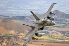 Mc Donnell Douglas F-18 Hornet - Ejército del Aire