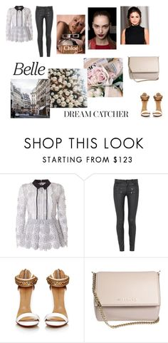 """Dream Catcher"" by izzie1800 ❤ liked on Polyvore featuring OUTRAGE, self-portrait, Paige Denim, Chloé and Givenchy"