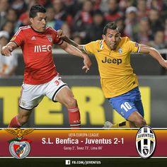 S.L. Benfica v. Juventus 2-1 (Garay, Tevez, Lima)