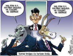 See?  Everyone likes Mitt's pick!    (Stuart Carlson on Gocomics.com)