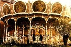 Magnificent 100 year old English Carousel.