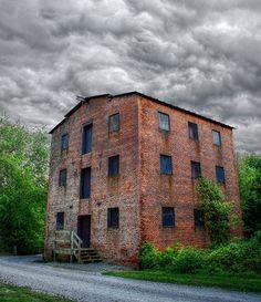 Brick Mill, part of farm complex, Smithville, Burlington county, New Jersey