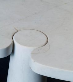 Italy, designed 1971solid carved Carrara marble 28
