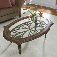 Riverside Furniture – Serena Oval Coffee Table