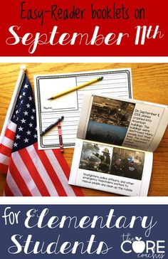 Printable booklets for 1st, 2nd, and 3rd grades. Includes integrated reading, writing, social studies, and art lesson plans about September 11th. 9/11