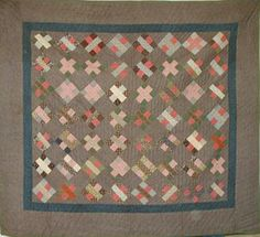 Barbara Brackman's MATERIAL CULTURE - a little different 9-patch!