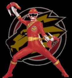 red wild force ranger - Google Search