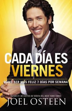 The title comes from research that shows people are happiest on Fridays. Pastor Joel Osteen writes how we can generate this level of contentment and joy every day of the week. Known as a man who maintains a constant positive outlook in spite of circumstances, Osteen has described this message as a core theme of his ministry. Combining his personal experiences with scriptural insights and principles for true happiness.