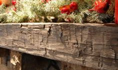 Smaller stature 6″ x 6″Hand Hewn fireplace mantels provide a look of character that cannot be replicated. These beams were created by hand using a broad axe and retain the charm imbedded by the artisans who created them.