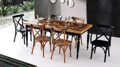 Epox Ahşap Masa Marsilya Mutfak Seti Wishbone Chair, Table, Furniture, Home Decor, Interior Design, Home Interior Design, Desk, Tabletop, Arredamento