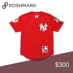 c90f16b188a Supreme New York Yankees /Supreme/Majestic Baseball Jersey
