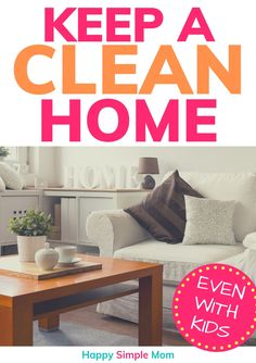 Keep a clean home and a clutter-free home with these tips and ideas, even with kids. Secrets and cleaning hacks to stop the clutter creep. Declutter Your Home, Organize Your Life, Organizing Your Home, Organizing Tips, Organising, Indoor Activities For Toddlers, Toddler Learning Activities, Clutter Control, Clutter Free Home
