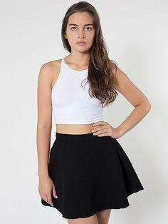 Natural DenimCircle Skirt