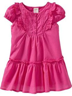 Pintucked Ruffle Dresses for Baby | Old Navy  Tam: 12M a 5T  Precio: $15