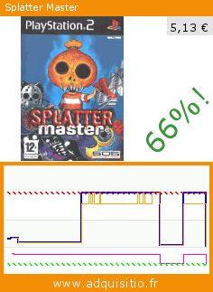 Splatter Master (Jeu vidéo). Réduction de 66%! Prix actuel 5,13 €, l'ancien prix était de 14,95 €. http://www.adquisitio.fr/codemasters/splatter-master