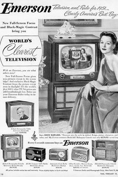 Conclusions : Beautiful Actress, Beautiful Mind, Hot Gadgets. Hedy Lamarr's beauty and celebrity and perhaps her technical mind made her the ideal person to help promote Emerson radio and TV sets in the early 1950s.