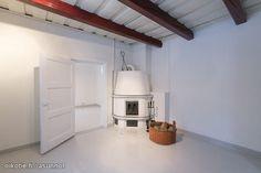 White fire place / Valkoinen takka