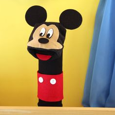 Mickey Sock Puppet | Disney Family
