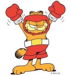 Everytime I get KO, I will pick myself up and fight again. Every KO, makes me a tougher and stronger fighter. Happy bday to myself. Garfield Pictures, Garfield Quotes, Garfield Cartoon, Garfield And Odie, Garfield Comics, A Comics, Garfield Wallpaper, Comic Cat, Fat Orange Cat