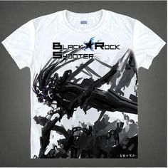 Black Rock Shooter Short Sleeve Anime T-Shirt - OtakuForest.com