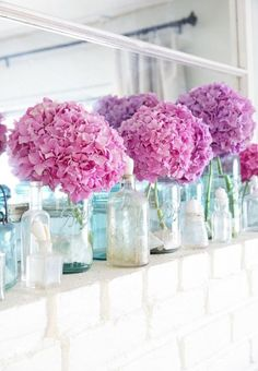 42 Awesome Summer Mantel Décor Ideas - DigsDigs