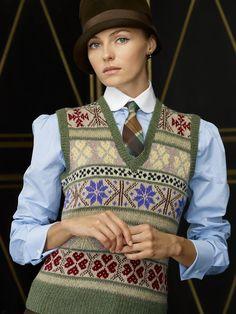 Fair Isle Sweater Vest  - Ralph Lauren