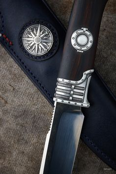 """Stern wind"" - Fixed blades - 2knife"