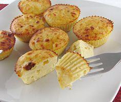 Muffins de truita de patates