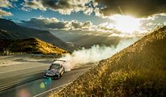 New Zealand based international drift driver Mike Whiddett has the chance to push his bespoke quad-rotor rotary engine car to the limit on a stretch of road at Crown Range for Red Bull Conquer The Crown in the mountains of Queenstown. Bmx, Red Bull, New Zealand Mountains, New Porsche, Jaguar F Type, Drifting Cars, Rally Car, Jdm Cars, Sexy Cars