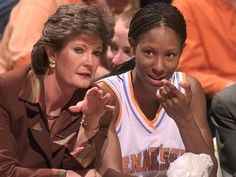 Pat Summit & Chamique Holdsclaw