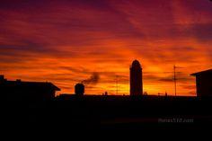 """Max510's blog - """"Quando sono in viaggio, il mio cielo è sempre sereno..."""" #alba #dawn #cameri"""